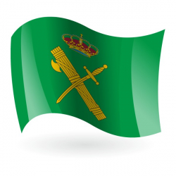 Bandera de la Guardia Civil